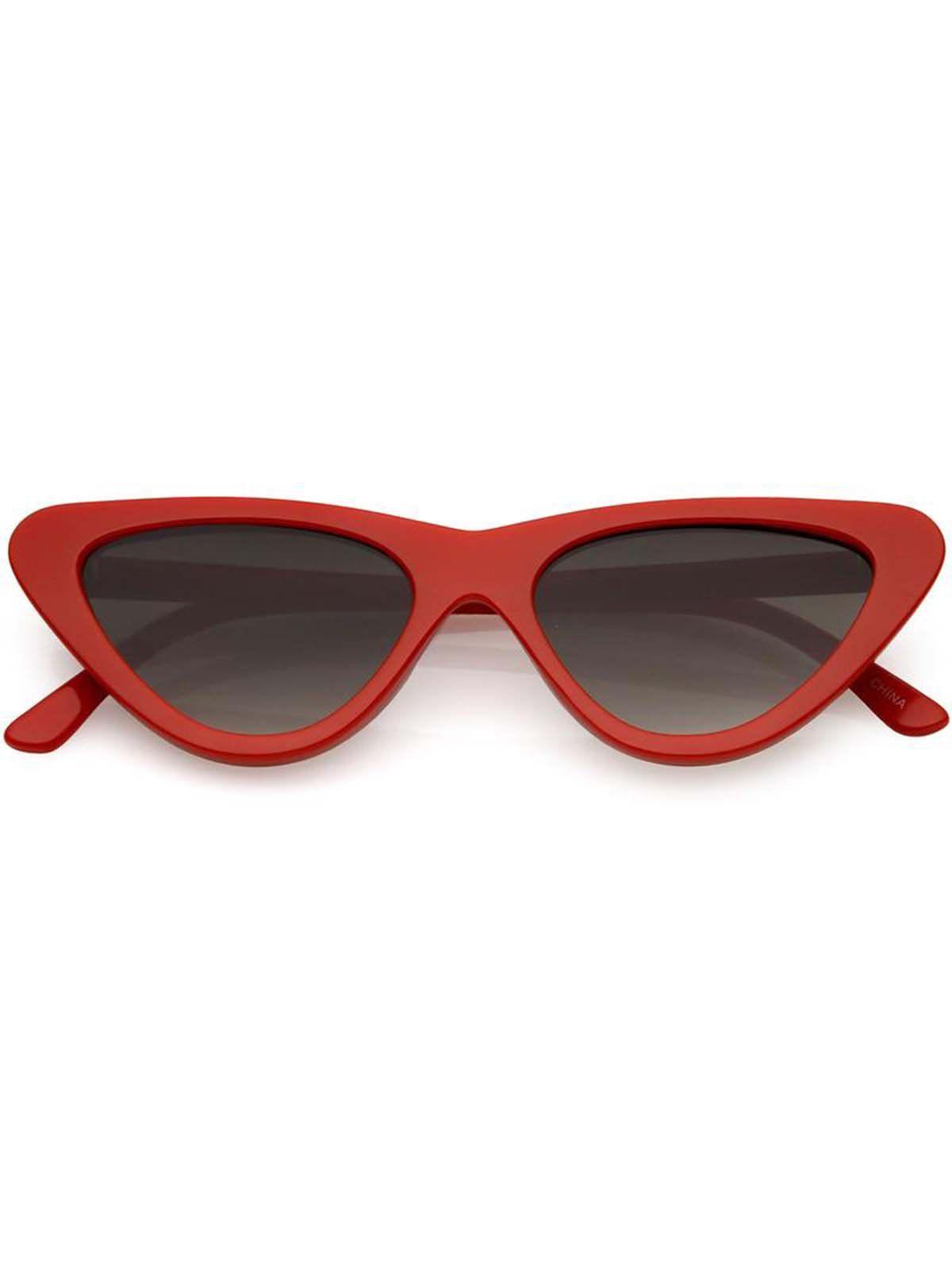 ee72e301c8920 Óculos Cat Eye 77 Vermelho     Os óculos vintage que toda fashion girl  precisa ter.