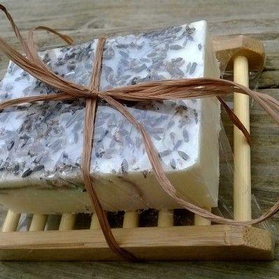 Eco Friendly Vegan Gift Set, Soap & Wooden Soap Dish - Olivia Rose Cosmetics