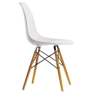 Chaise Dsw Eames Vitra blanche | Lofts and Apartments