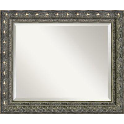 Rosalind Wheeler Neville Wall Mirror Size: 20.34'' H x 24.34'' W