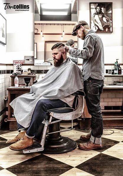 Wake Up and Smell the Barbicide | Barber shop, Barber man, Barber