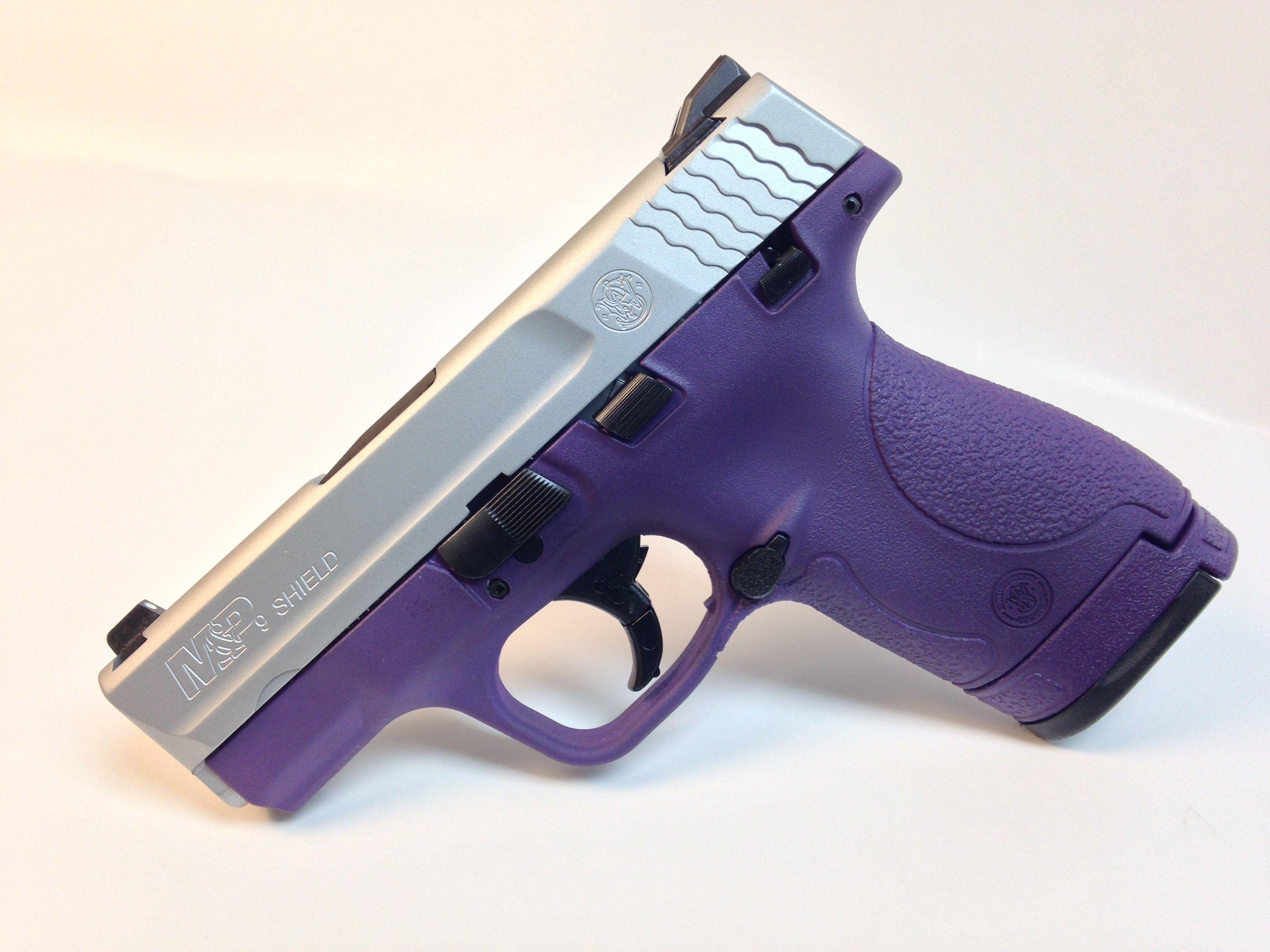 Goddess Purple S&W Shield 9mm | Gun shop | M&p shield 9mm, Guns, M&p