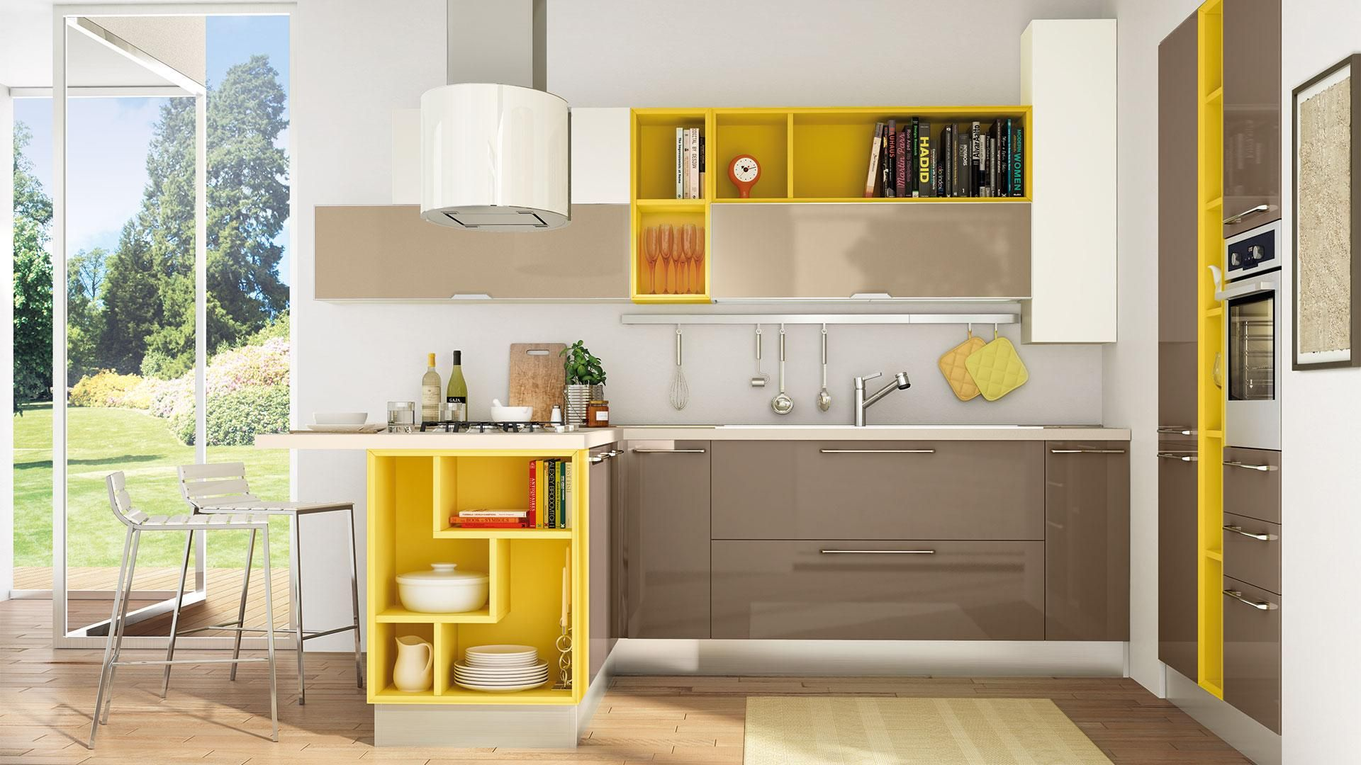 Noemi - Cucine Moderne - Cucine Lube | Idee per la casa | Pinterest ...