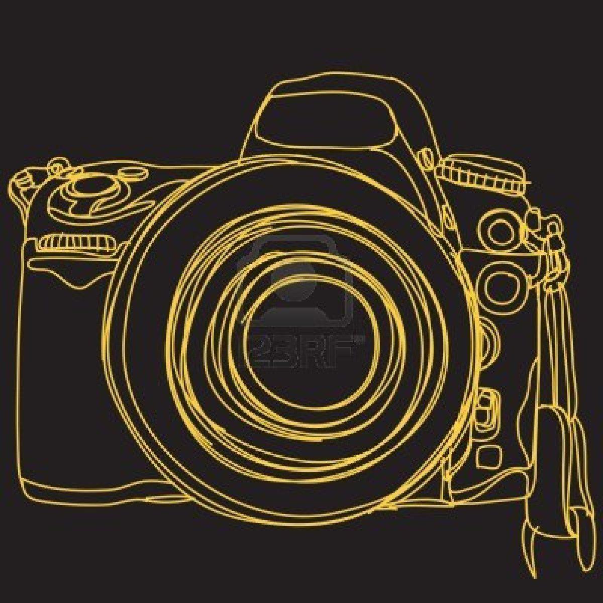 Stock Vector Camera illustration, Illustration, Photography