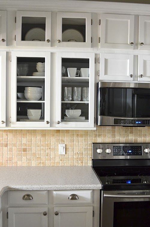 The Happy Homebodies Reveal Kitchen Cabinet Makeover Kitchen Cabinets Makeover Kitchen Cabinets Home