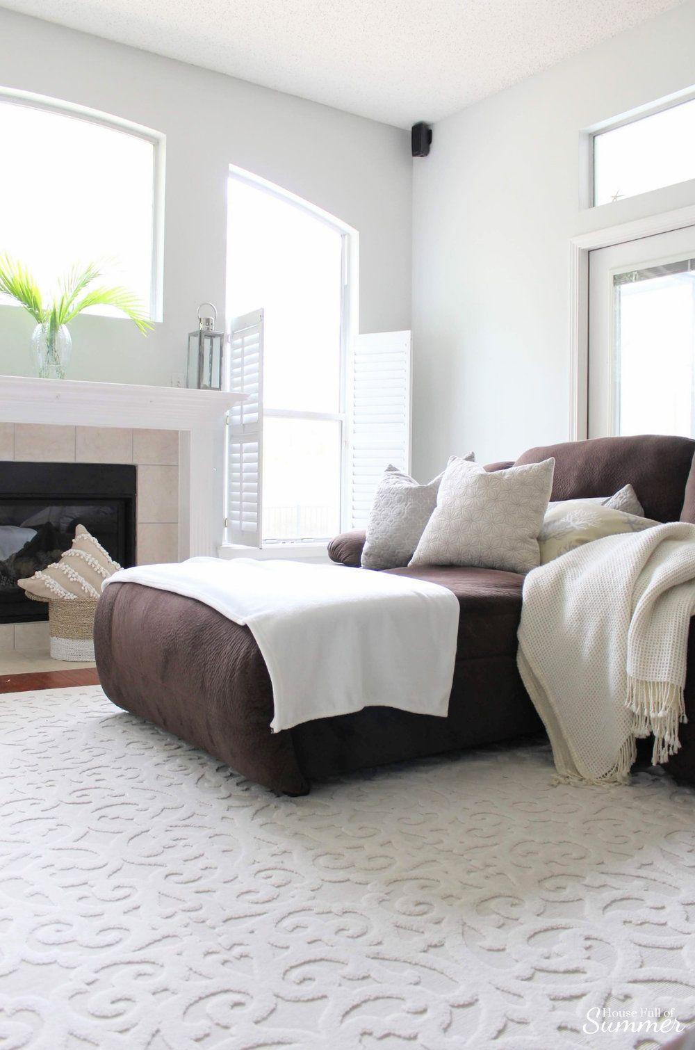 How I Chose My Calming Coastal Gray Wall Color Bedroom