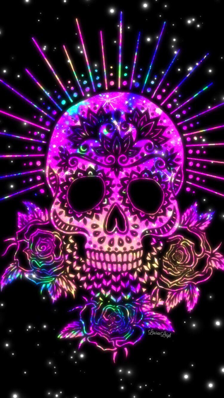 Brilliant Skull Skull Artwork Sugar Skull Wallpaper Skull
