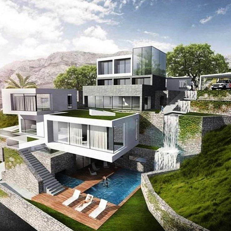 Modern Mansion Living Lifestyle Success Family House Plans Mansion Mansion Living Contemporary House Design