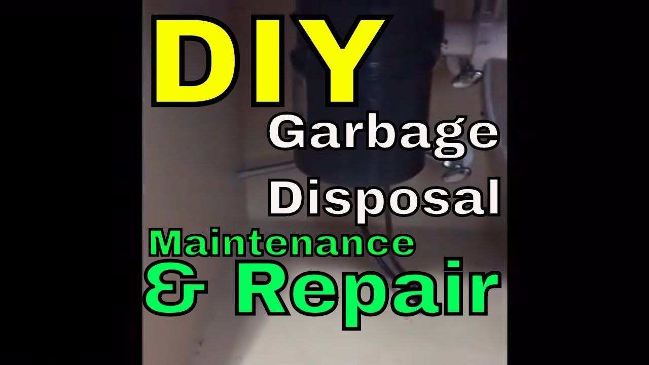 how to unjam a garbage disposal video