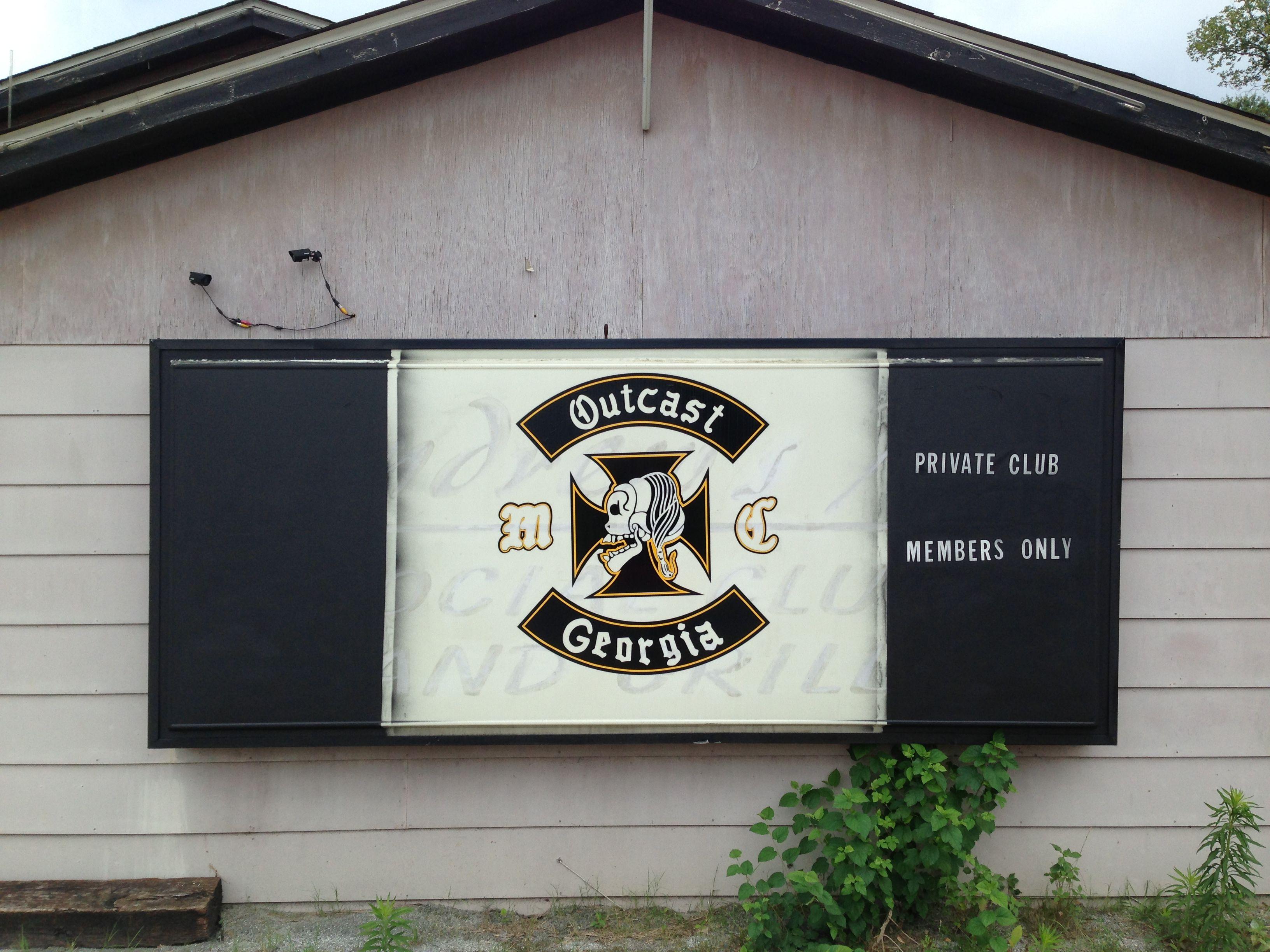 Outcast MC Columbus, GA  My old clubhouse POFFOP | Black Bikers