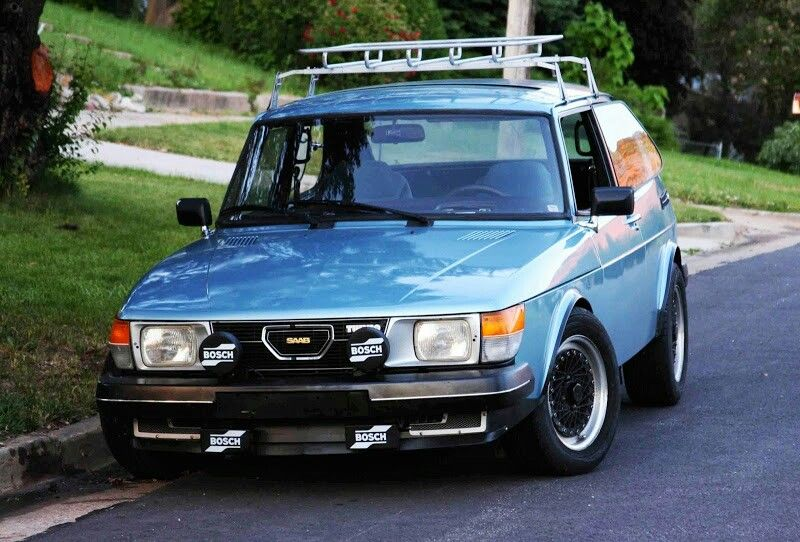 SAAB 99 with Roof Rack | SAAB - Born from jets | Pinterest ...