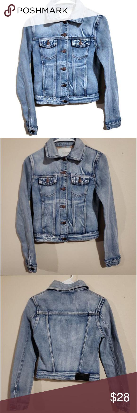 Sea Gypsies Juniors Small Denim Jean Jacket Blue Denim Jean Jacket Juniors Jean Jacket Jean Jacket [ 1740 x 580 Pixel ]