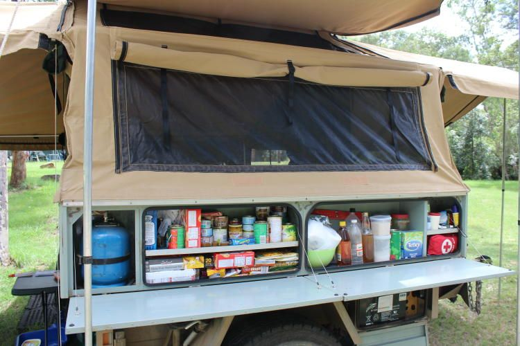 Model Built Tough Trailer Camper Kitchen In WILLASTON South Australia For