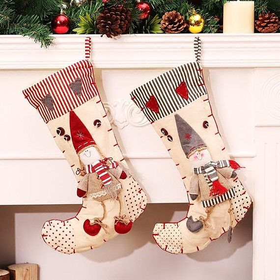 cheap decorated socks buy quality christmas stocking directly from china christmas stockings wholesale suppliers 2016 newest style christmas stocking - Wholesale Christmas Stockings