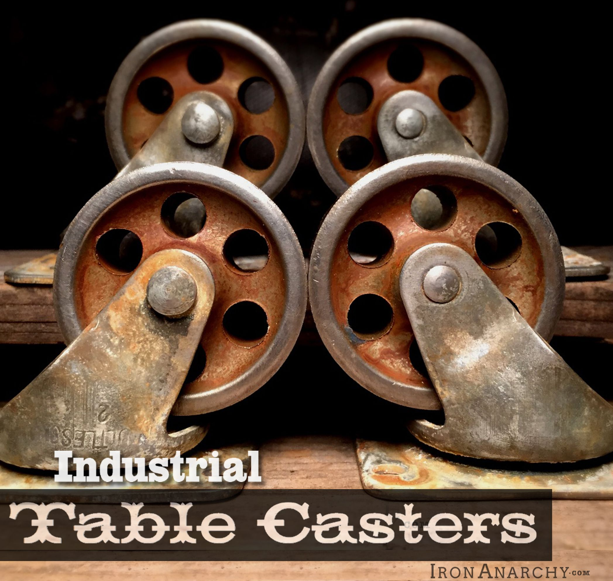 Vintage Industrial Casters From Ironanarchy Com Industrial