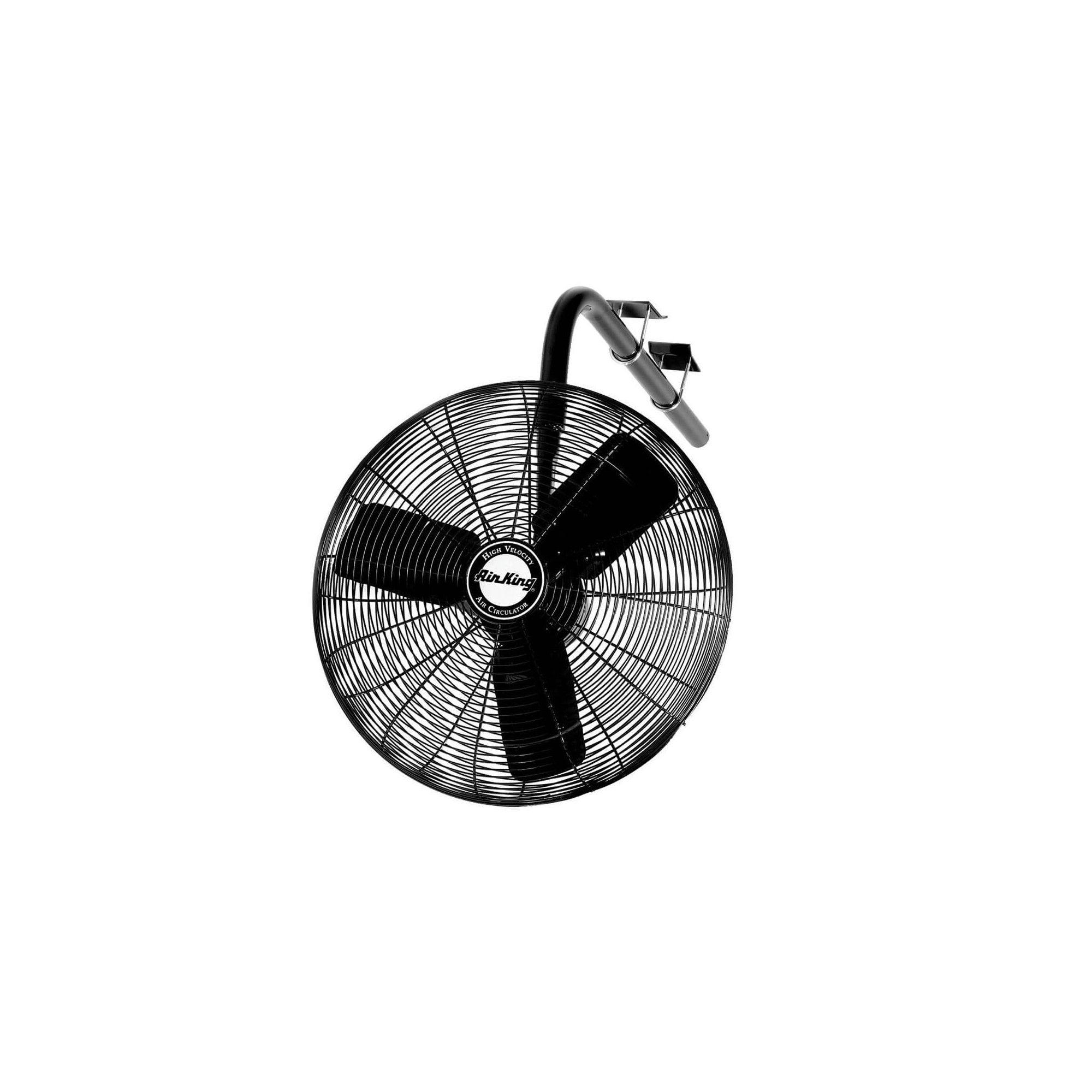 """Air King 9674 24/"""" 1//3 HP Oscillating Industrial Grade I-Beam Mount Fan"""