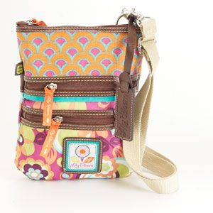 Lily Bloom made of recycled bottles Bits/Pieces Crossbody - Bora Bora- must have