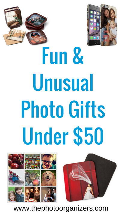 Fun And Unusual Photo Gifts Under 50