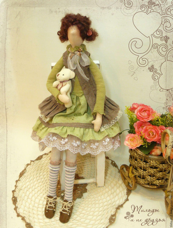 Купить Кукла Тильда: Кристина - тильда, кукла Тильда, куклы тильды, текстильная кукла ☆