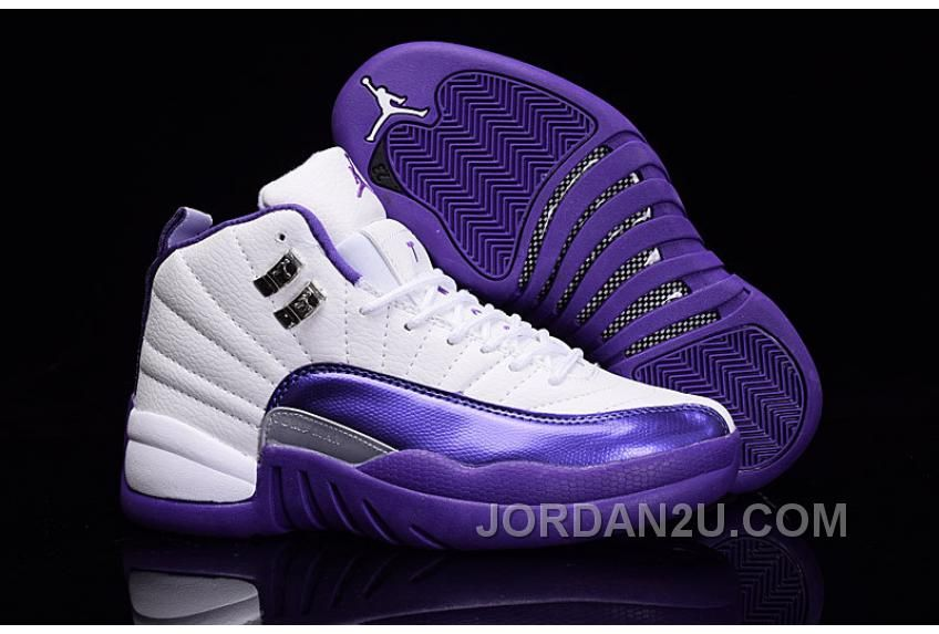 bbf0712ec1c61b Best representation descriptions  Air Jordan Retro 12 Purple and White  Related searches  New Kicks Shoes