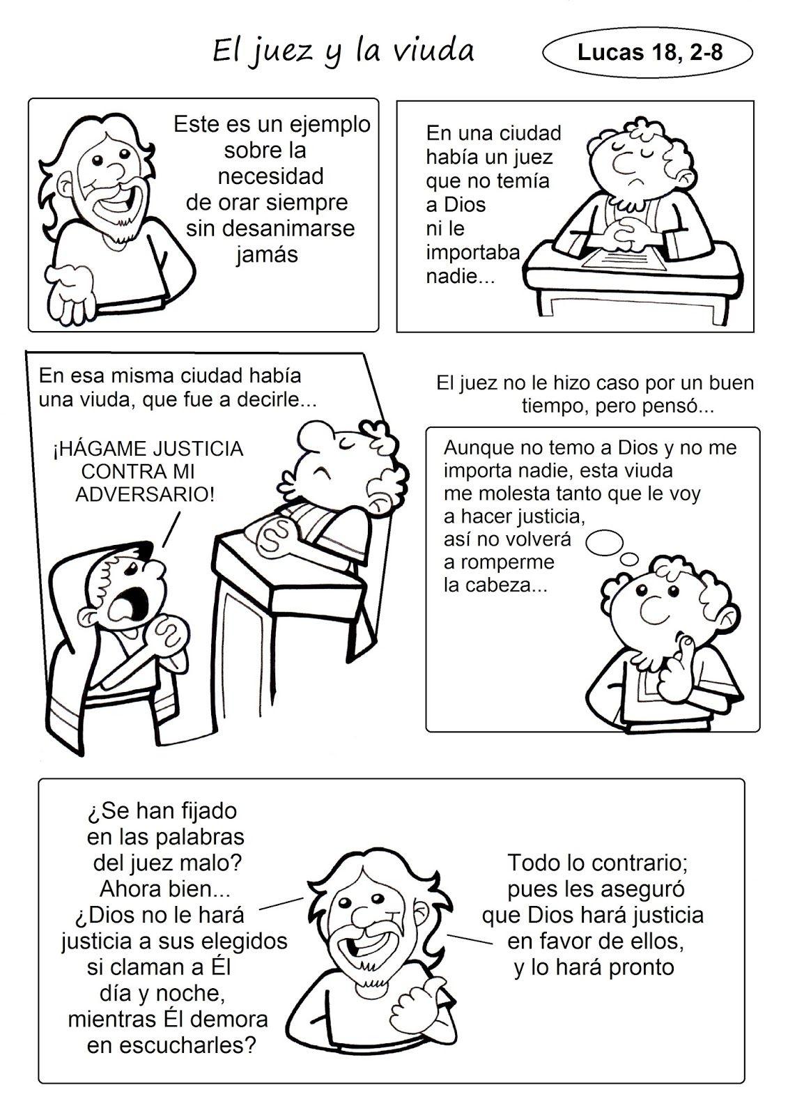 El Rincón de las Melli: PARÁBOLA (El juez y la viuda) | RELIGION ...