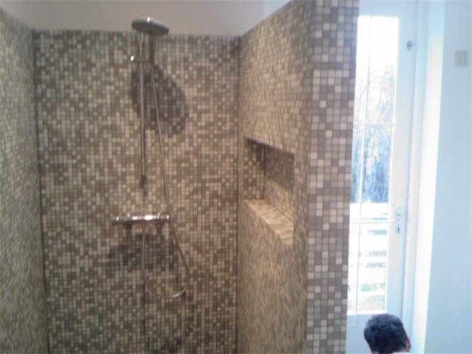 glasmozaiek badkamer - Google zoeken | badkamer | Pinterest | Searching