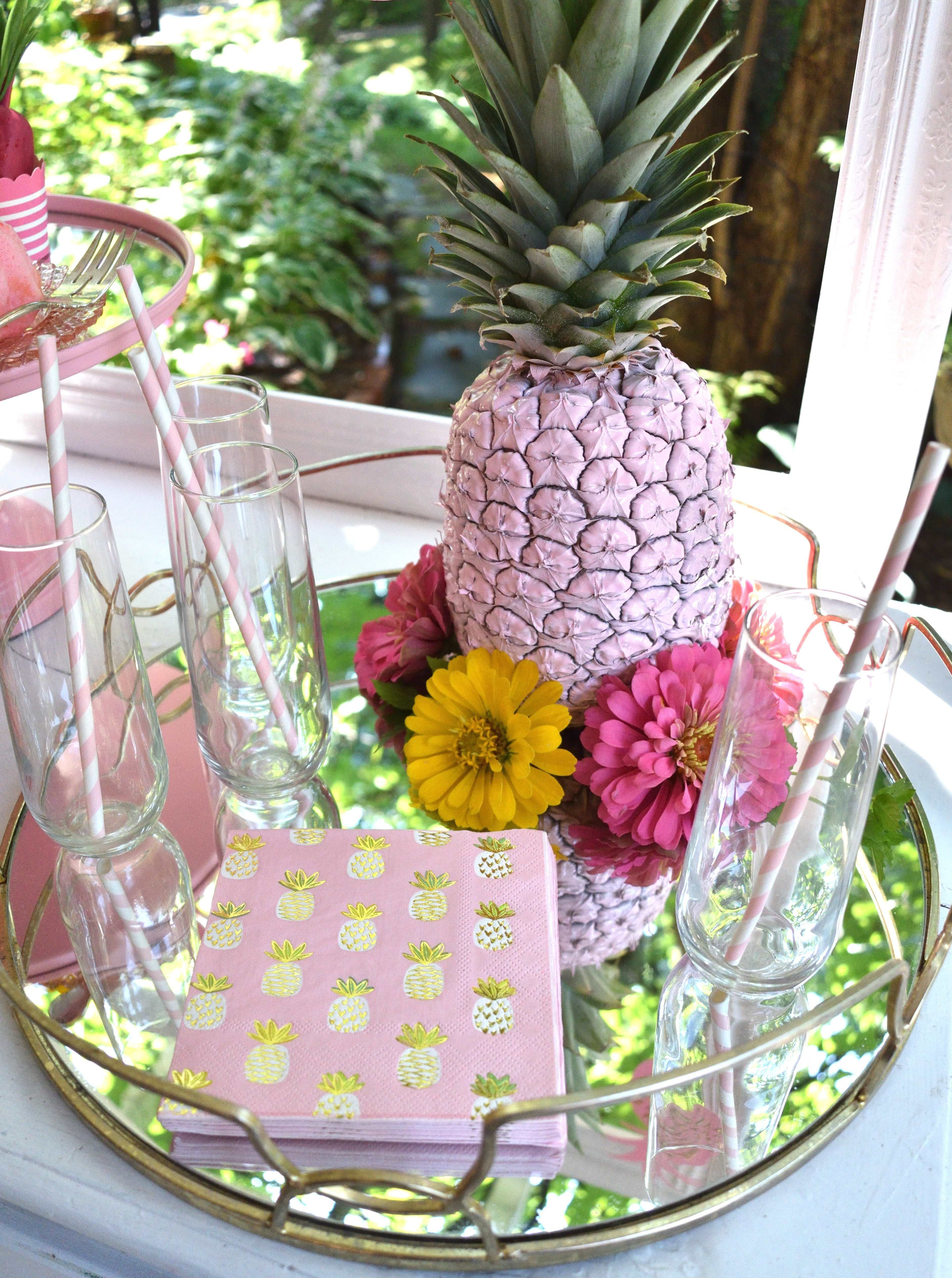Pineapple Party Ideas For Summer Fun See Some Festive Color Options
