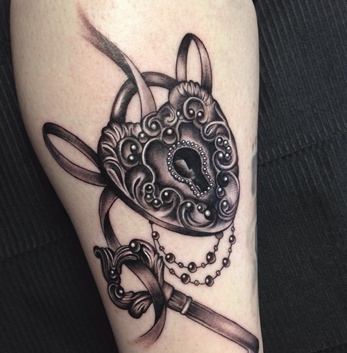 Pretty lock and key tattoos pinterest tattoo and for Pretty key tattoos
