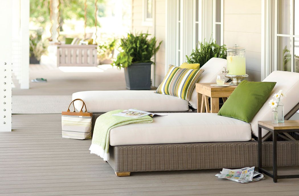 Outdoor Home Sunbrella Fabrics Patio Furniture Cushions Contemporary Home Furniture Outdoor Living Space