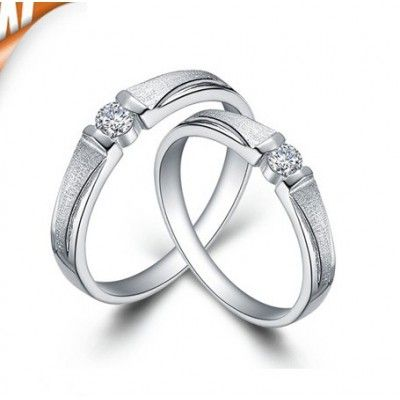 Very inexpensive and unique this matching couples wedding ring