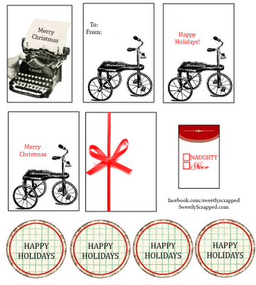 Free printable christmas tags | Free Printables | Pinterest | Papel ...