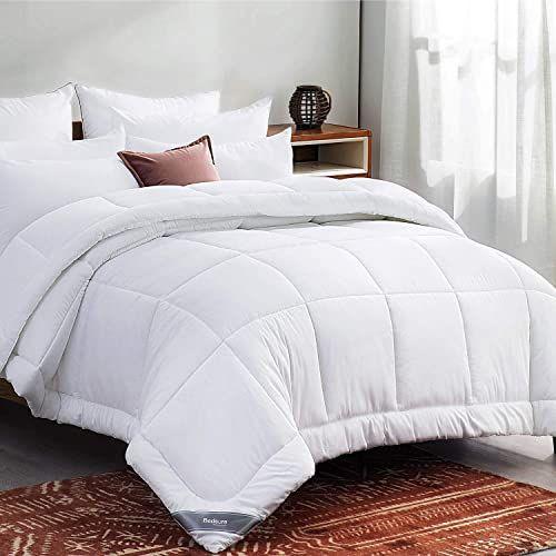 Best Seller Bedsure White Down Alternative Comforter Queen All