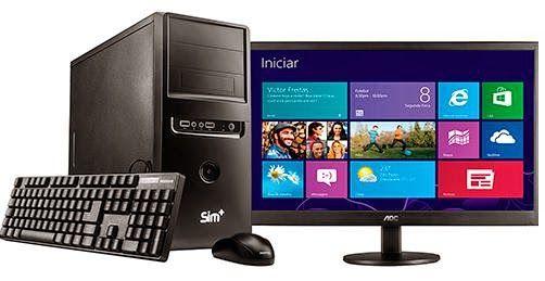 Computador SIM Positivo 5860i com Intel Core i7, por R$ 2.499,00