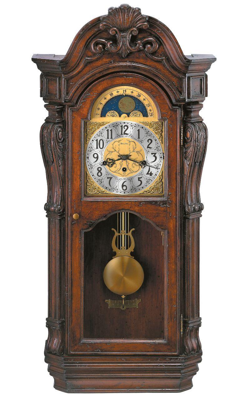 Old World Wall Clock Bulova Canterbury Clock Wall Clock Wall Clock Grandfather
