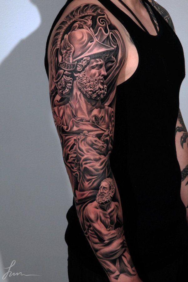 79 3D полный рукав татуировки