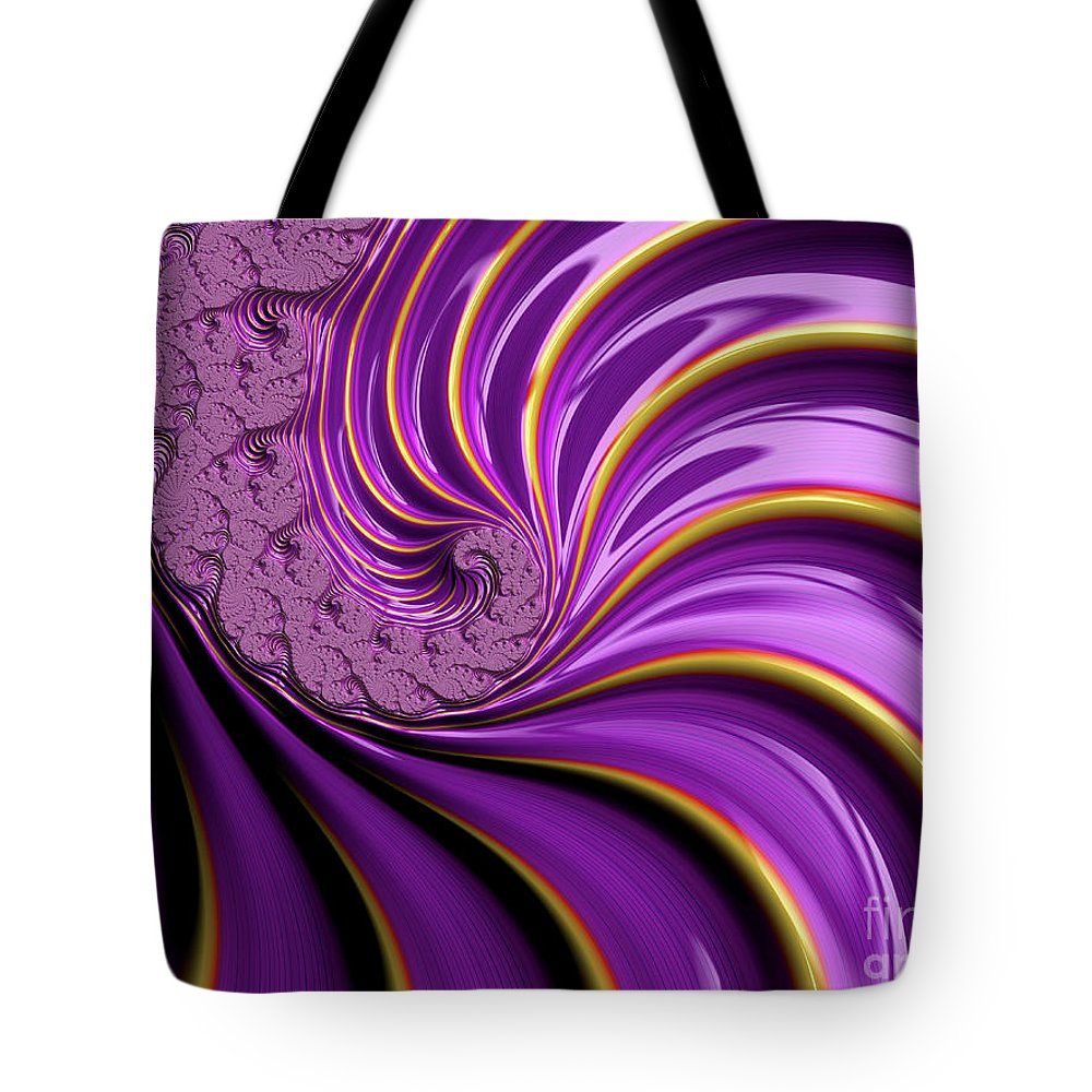 Purple Spiral Stairs Tote Bag for Sale by Elisabeth Lucas