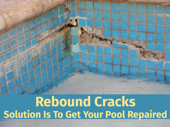 Rebound Cracks Solution Is To Get Your Pool Repaired Http Www Espositopools Com News Rebound Cracks Solution I Pool Repair Pool Maintenance Pool Cleaning