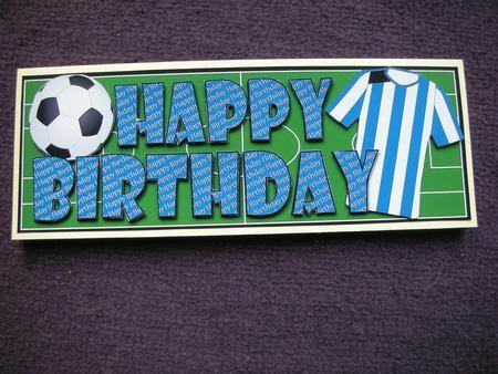 Football slider birthday card google search sport pinterest football slider birthday card google search bookmarktalkfo Gallery