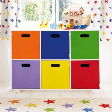 Rainbow Playroom Storage - Toy Boxes u0026 Toy Storage - Storage - gltc.co.uk | Boys Room | Pinterest | Playroom storage Playrooms and Storage  sc 1 st  Pinterest & Rainbow Playroom Storage - Toy Boxes u0026 Toy Storage - Storage - gltc ...