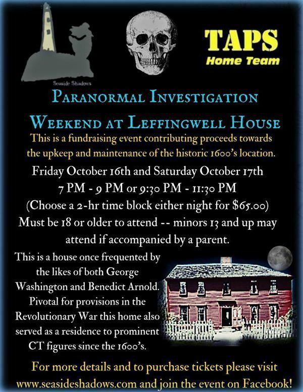 Home | The Atlantic Paranormal Society