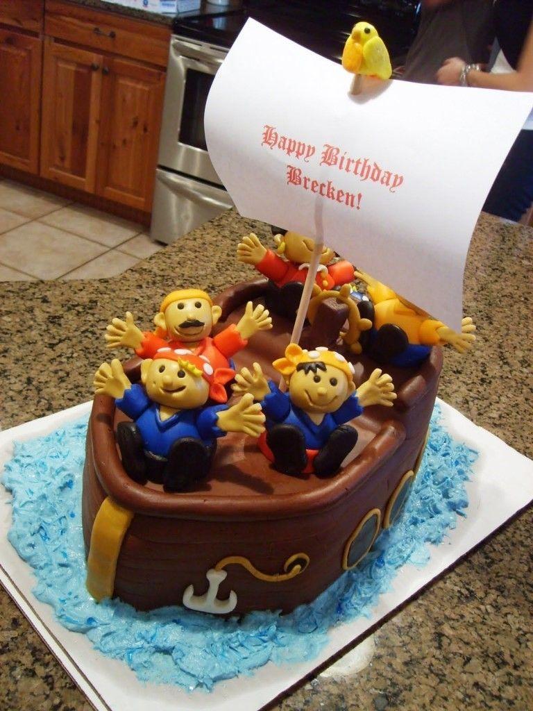 Cake ideas on pinterest pirate cakes marshmallow fondant and - Cake Pirate Cakes Decorating