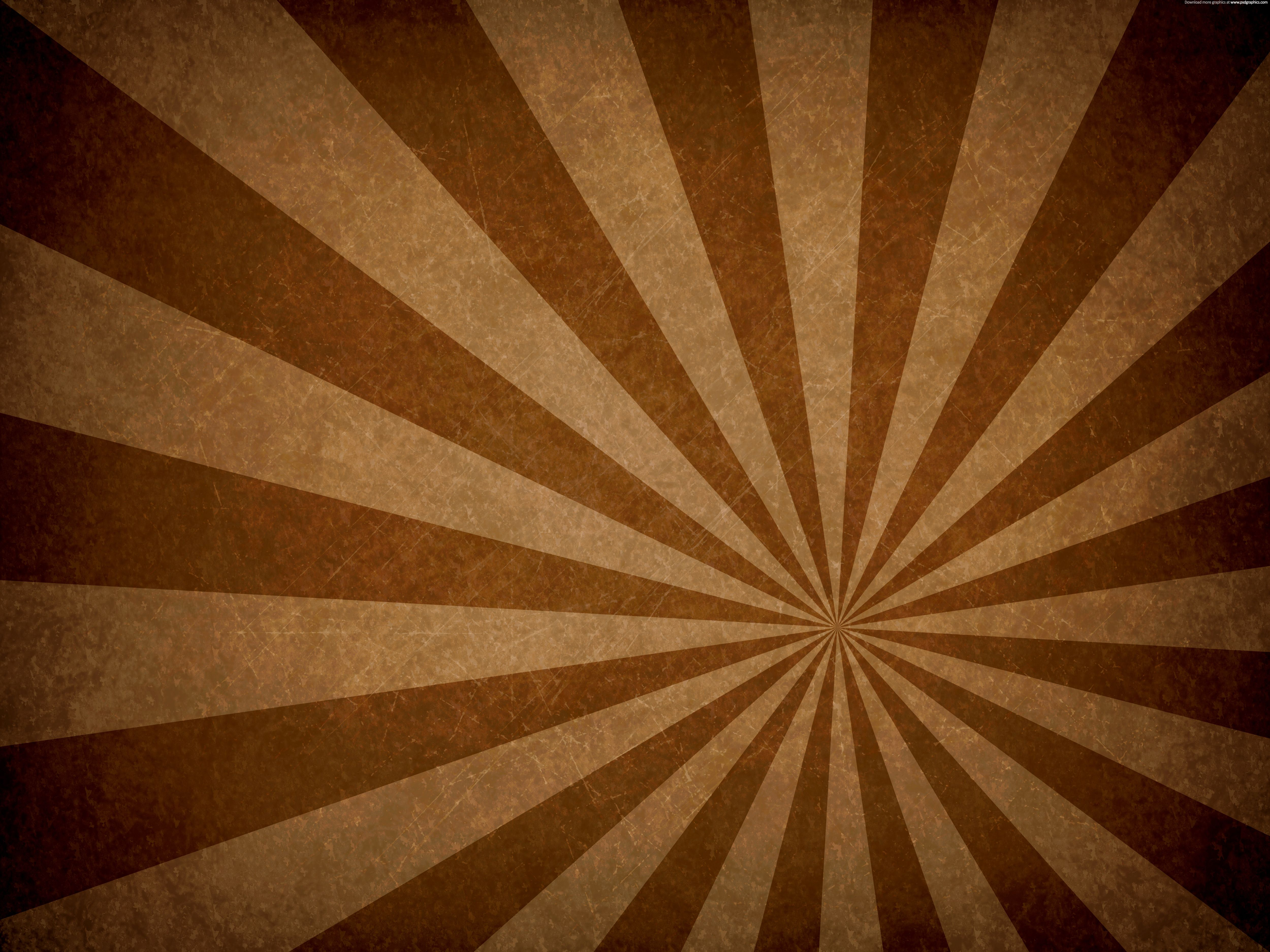 Retro Vintage Backgrounds Vintage Circus Brown Wallpaper