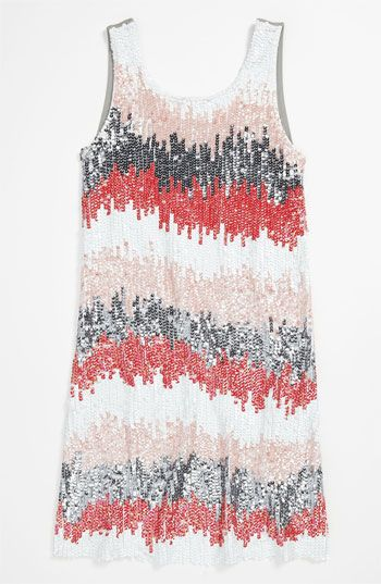 c18d5698e33 Flowers by Zoe Sequin Dress (Big Girls) available at  Nordstrom I wish this  was for big girls.