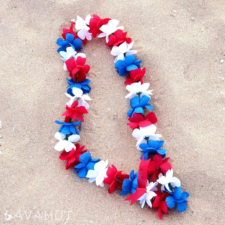 Freedom Hawaiian Flower Lei Flower Lei Hawaiian Flowers And Hawaiian