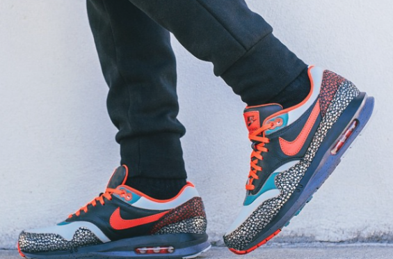 Nike Quickstrike QS Air Max Lunar1 Deluxe 'Kabutomushi Collection' Antarctic Orange