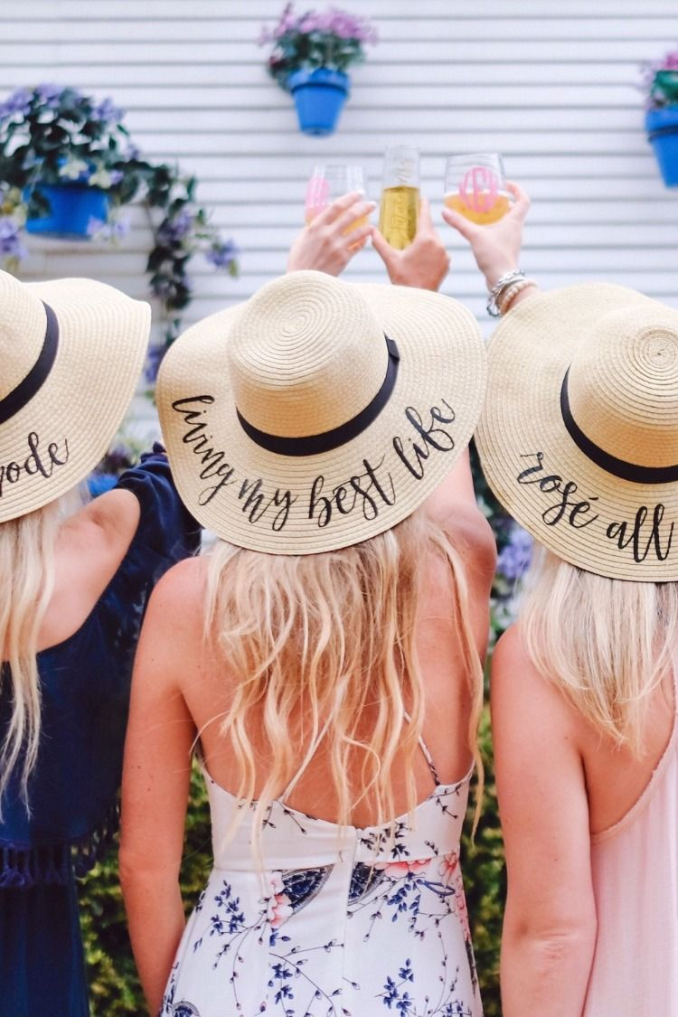 58c0d580af2 Looking for bachelorette floppy hats  They re a fun addition to  bachelorette parties of any kind