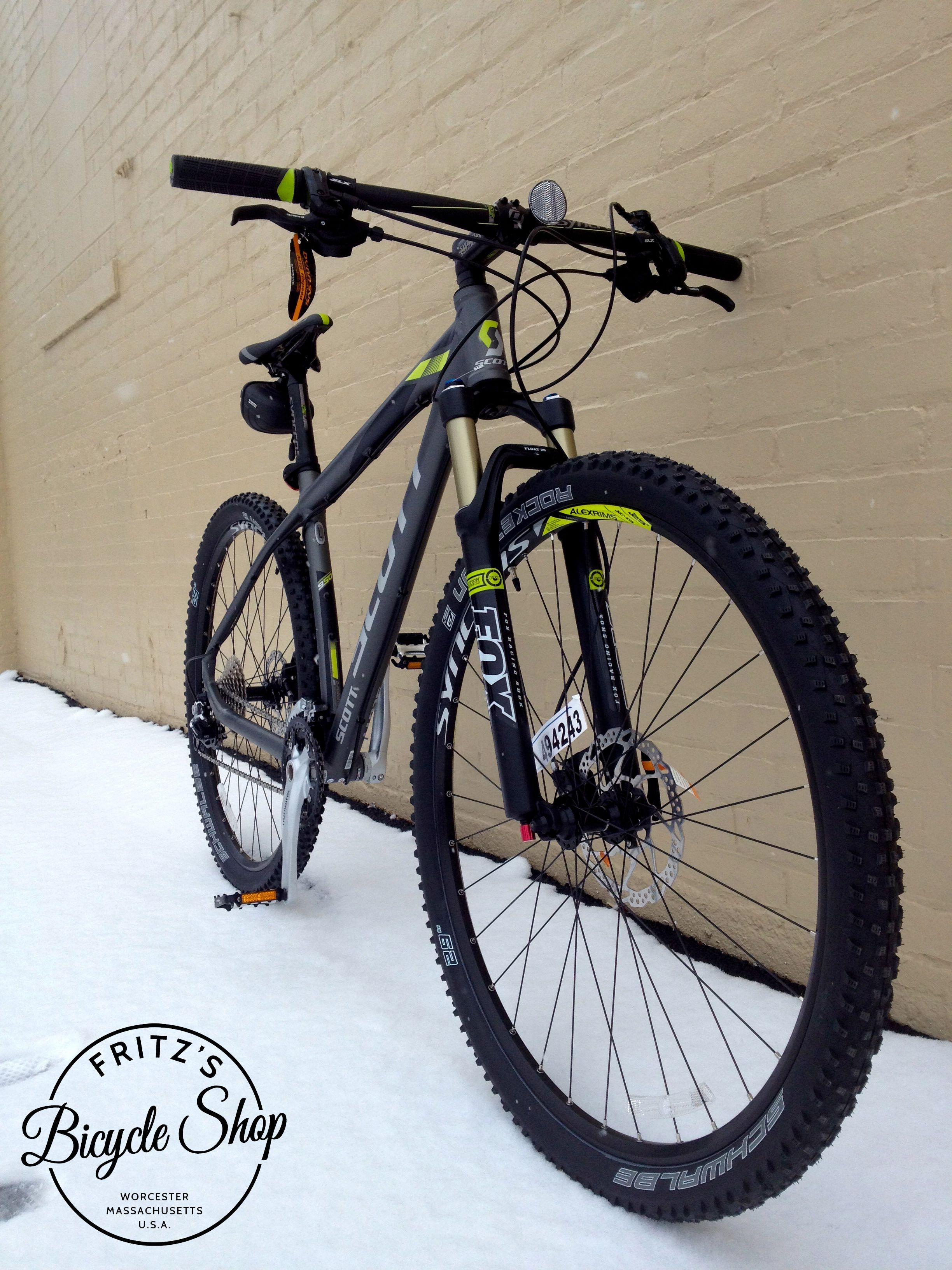 The Custom Butted 6061 Aluminum Scott Scale 950 Is A Lightweight