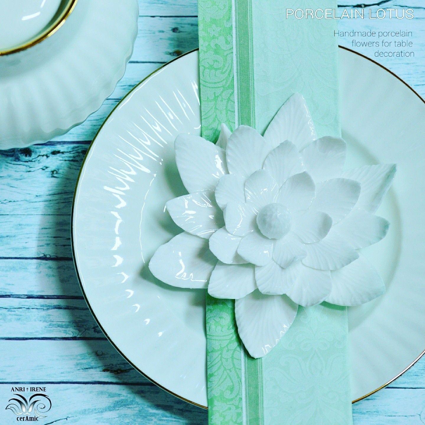 Porcelain lotus porcelain lily ceramic lotus floral ceramics porcelain lotus porcelain lily ceramic lotus floral ceramics white porcelain flower izmirmasajfo