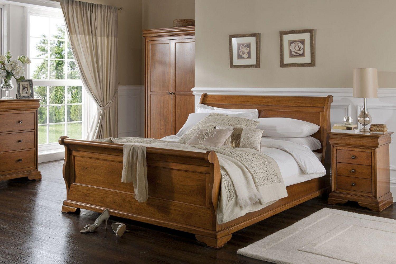 Willis Gambier Louis Philippe 6FT Superking Wooden Bedstead   Deco ...