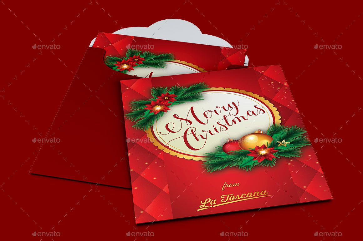 Red Ornament Christmas Card Template Christmas Card Ornaments Christmas Card Template Christmas Ornaments